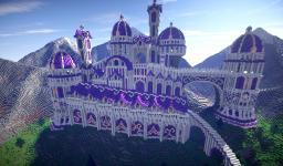The Fantastical Purple Palace Minecraft Map & Project