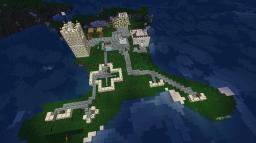 Island Base Minecraft Map & Project