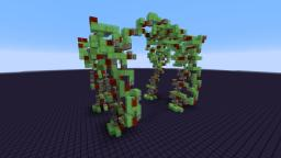 Giant Walking Robot - Gargantua (No Commandblocks or MODS) Minecraft Map & Project