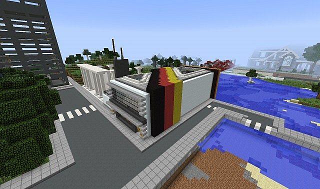 Minecraft Multifunctional Map: BERLIN 2038 +FREE ... - YouTube
