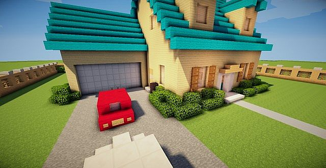 Family guy house minecraft project - Houses attic families children ...
