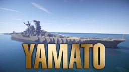 Yamato-class Battleship [1:1 scale] Minecraft Map & Project