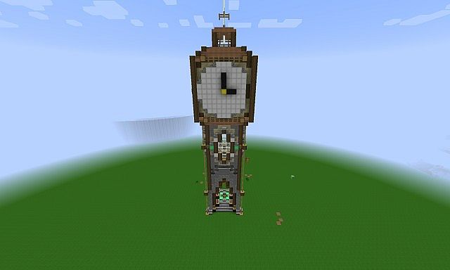 Medieval Clock Tower Minecraft Medieval Clock Tower M...