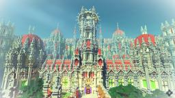 Angels Past | Huge Fantasy Palace | Minecraft