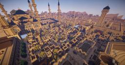 Arabian / Desert City (with special buildings) Minecraft Map & Project