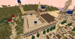 Great Mosque (Umayyad Mosque Inspìred) (Desert City Project) Minecraft Map & Project