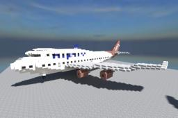 Boeing 747-400 [1:1 Fully Furnished] Minecraft