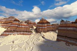 Khaki Desert - A realistic canyon and desert terrain [DOWNLOAD] Minecraft Map & Project