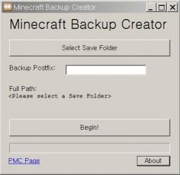 MC Backup Creator