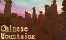 Chinese Mountains- Costum World Painter terrain Minecraft Map & Project