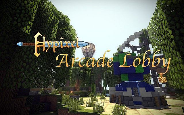 Hypixel Arcade Lobby Minecraft Project