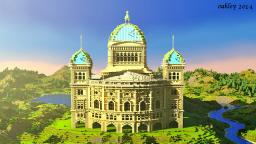 Bern Building Series #2 - The Federal Palace Minecraft
