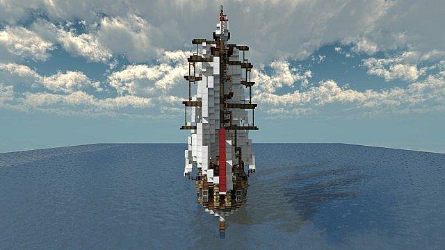 British merchant vessel hms royal avenger minecraft project - Mechant avenger ...