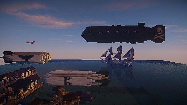 Ships, Airships, Submersible Airships, oh my!