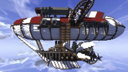 Celestium: Oriental steam punk airship Minecraft