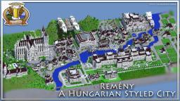 Remény - A Hungarian Styled City Minecraft Project