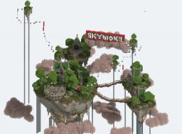 Sky island spawn :Commission Minecraft Map & Project