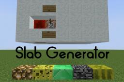 The automatic Half-Slab-Of-Every-Block-Generator Minecraft