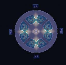 Heavens Kingdom [A Server Hub] [First Team Aqua Build] Minecraft