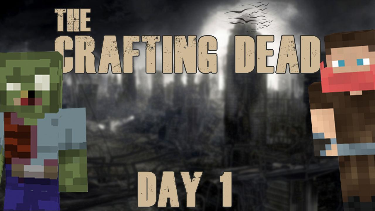 crafting dead day 1 minecraft project