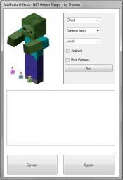 AddPotionEffects [NBT Helper Plugin] Minecraft Mod