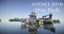 Anno 2070 - Ship Pack Minecraft Map & Project