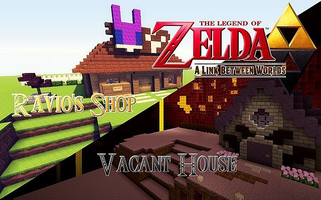 Legend Of Zelda: A Link Between Worlds Minecraft Project