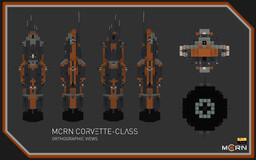 Corvette-Class Frigate || The Expanse Full Interior (1:1) Build Minecraft Map & Project