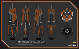 Morrigan-Class Destroyer || The Expanse Full Interior (1:1) Build Minecraft Map & Project