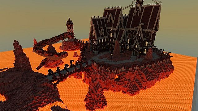 Images of Minecraft Nether Fortress - #rock-cafe