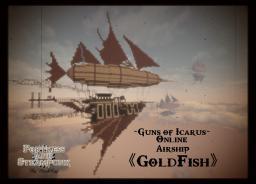 Steampunk Airship - GoldFish  【Guns of Minecraft】 DLOK Minecraft Map & Project