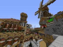 Steampunk city (not that much steampunk) Minecraft Map & Project