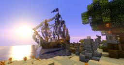 Vulcano - Domination Island Minecraft
