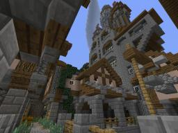 The Spire (medieval mountain castle) Minecraft Map & Project