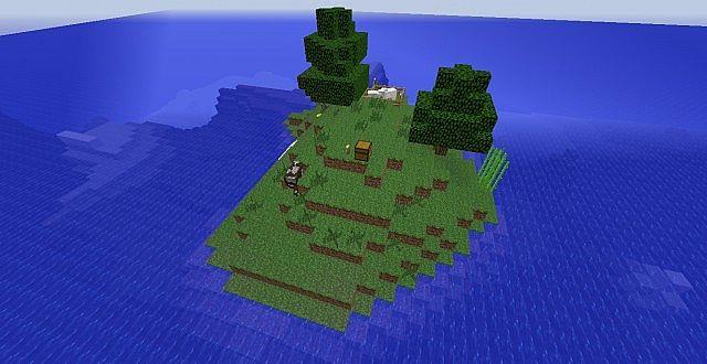Скачать карту Выживание на острове - Чанк для Майнкрафт ...
