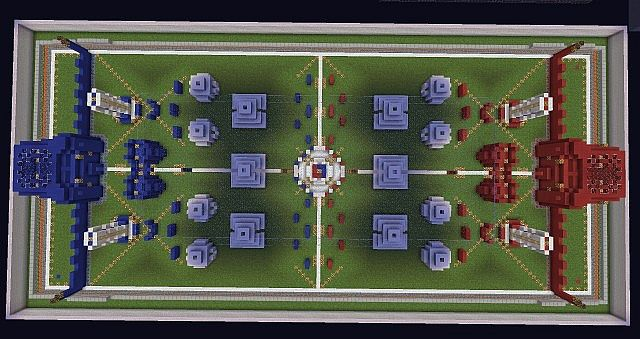 One of the many maps available for play