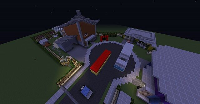 flag day crafts nuketown 2025 minecraft project 2025