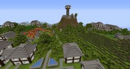 Mountain paradise Minecraft Map & Project