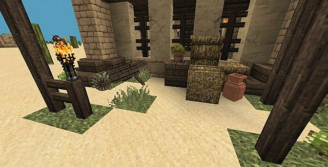 Moorish houses minecraft project for Moorish homes