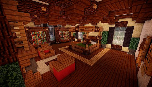 Minecraft Realistic Manison Minecraft Project