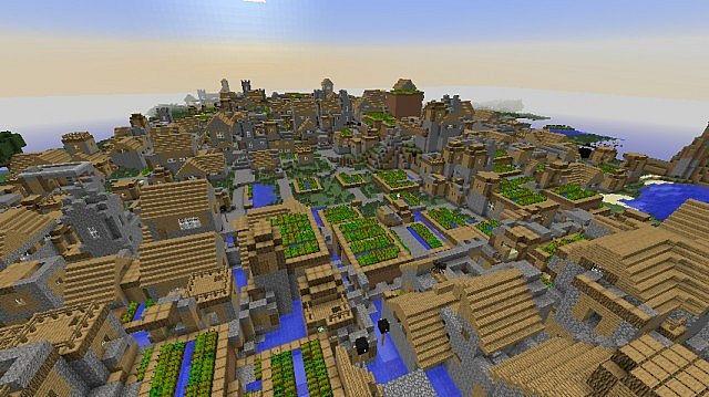 minecraft how to start a village