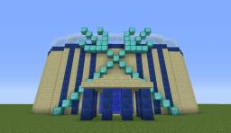 Atlanti-Dome Lucky Block Arena Minecraft Map & Project