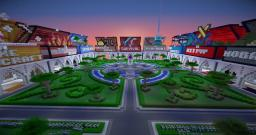 Modern Lite Lobby Spawn [Download] 9 game modules Minecraft Map & Project