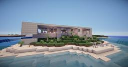 Seaside Residence | AMP Architecture Minecraft Map & Project