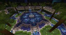 Spawn Hub Minecraft Map & Project