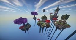 The Floating Village of Eldar Minecraft Project