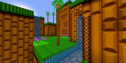 Sonic 2 Emerald Hill 1st Upload Minecraft Texture Pack