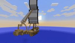 The Pirate Schooner (My First Ship) Minecraft Map & Project