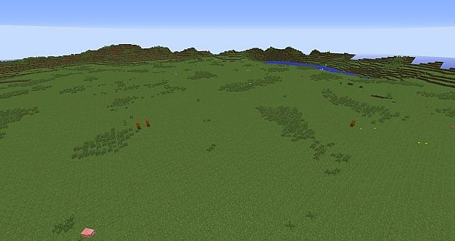 Island with flat center 1 minecraft project large flat opening in center surrounded by small hills gumiabroncs Image collections
