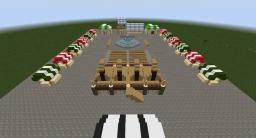 Medieval Town Square/Market Minecraft Map & Project
